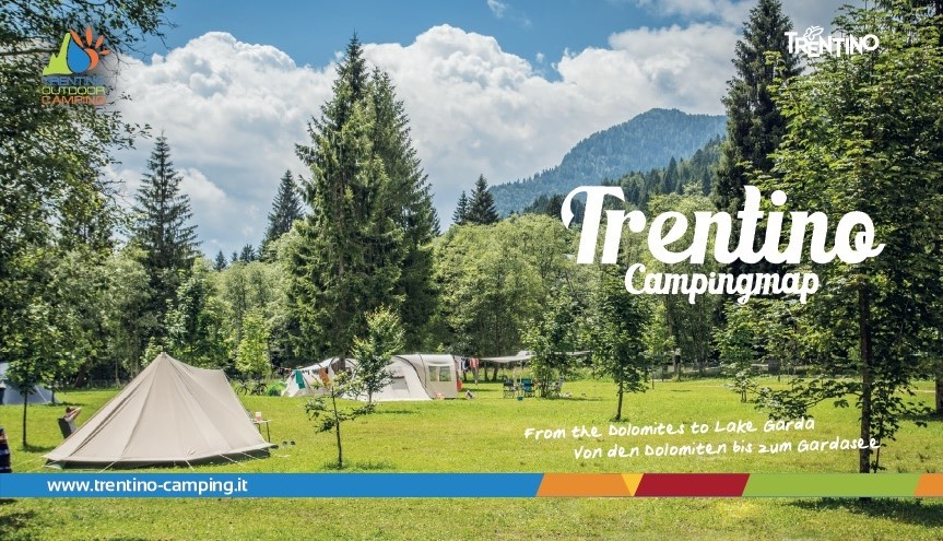 Copertina Cartina Trentino Outdoor 2018 or