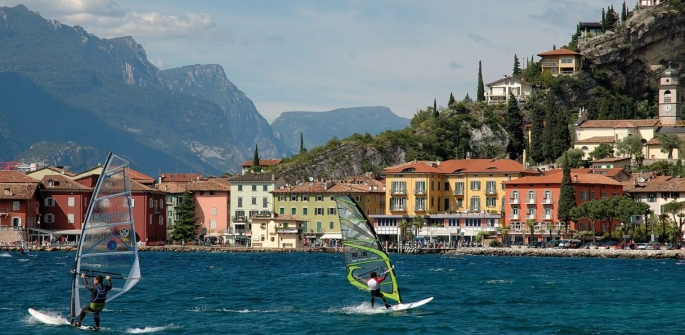 Windsurf e vela in Trentino