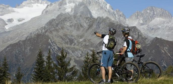 "MTB percorso ""Country"" Dolomiti di Brenta"