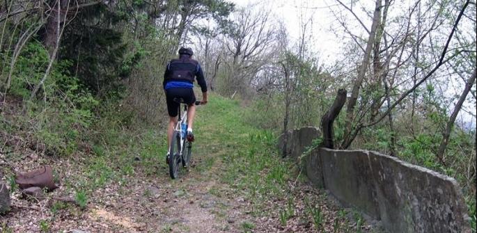 Giro di Ceramonte in bici