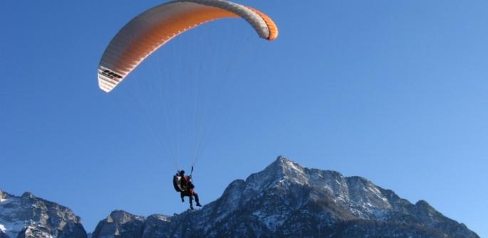 Parapendio e deltaplano in Trentino