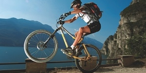 The Ponale Trail: cycle path on Lake Garda