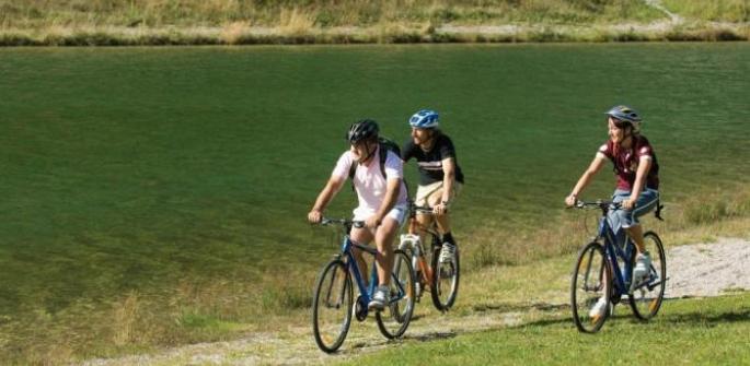 Giro in bici dei laghi di Molveno e Nembia